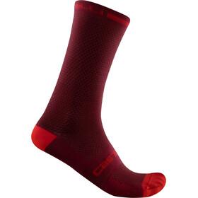Castelli SuperLeggera T 18 Socks bordeaux